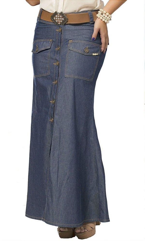 CT186 - Saia Longa Jeans - Colt