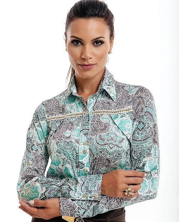 71118 - Camisa Arabescos