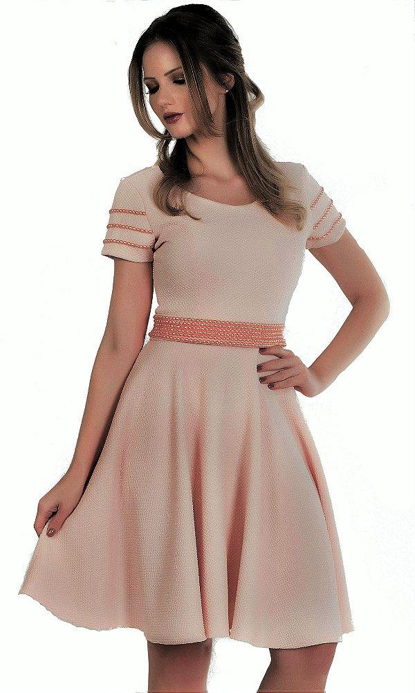 50907 - Vestido Boneca Rosê - Via Karuso