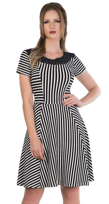 50970 - Vestido de malha grossa - Via Karuso