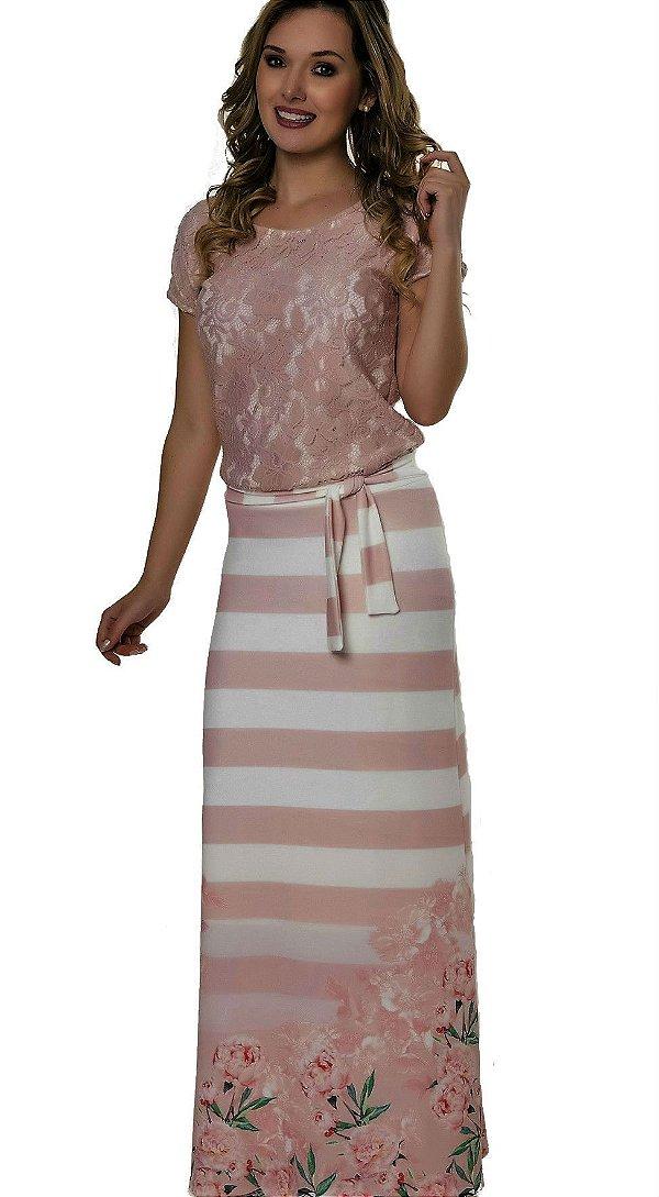50897 - Vestido Renda - Via Caruso