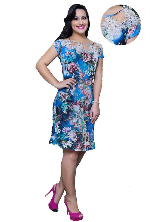 10665 - Vestido Médio - Puro Sharmy