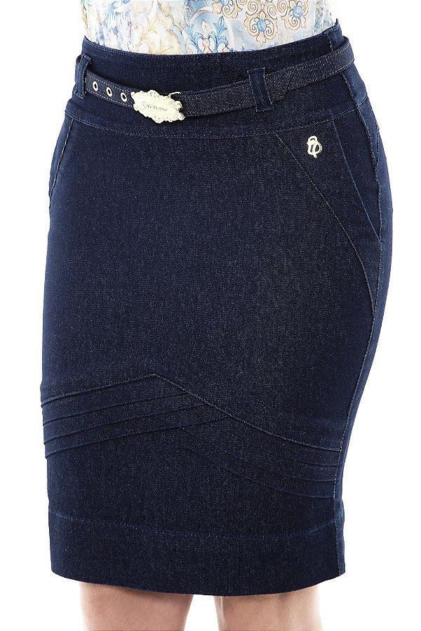 VT102486 - Saia Pregas Jeans - Via Tolentino