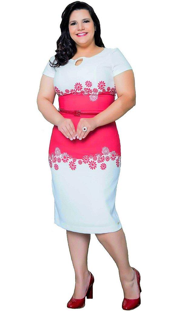 PS10775 - Vestido Estampado - Puro Sharmy