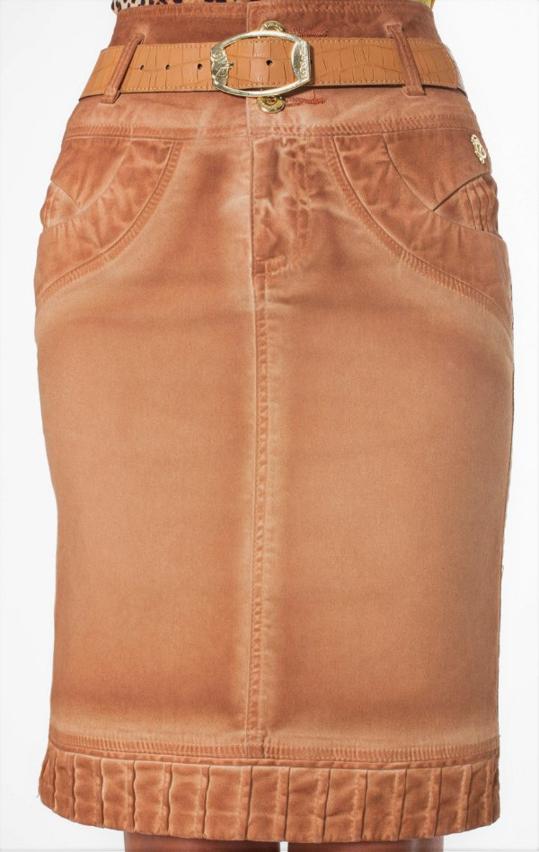 VT102681 - Saia Detalhes Barra Jeans - Via Tolentino