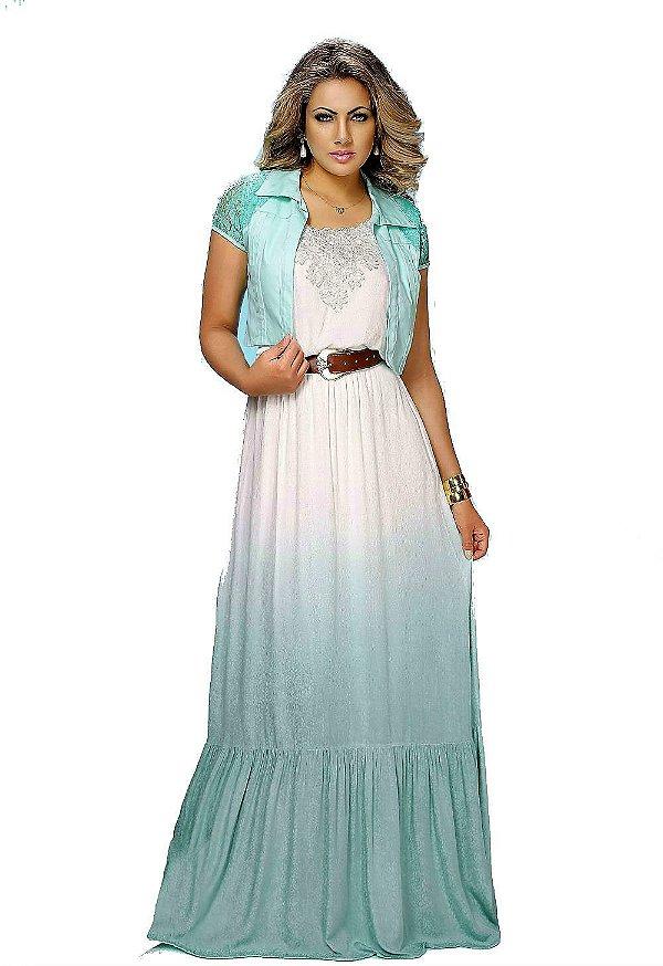 9035 - Vestido Longo Grecia Delux Fasciniu's