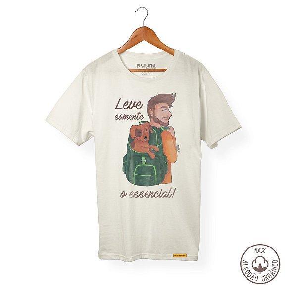 Camiseta Algodão Orgânico Somente o essencial