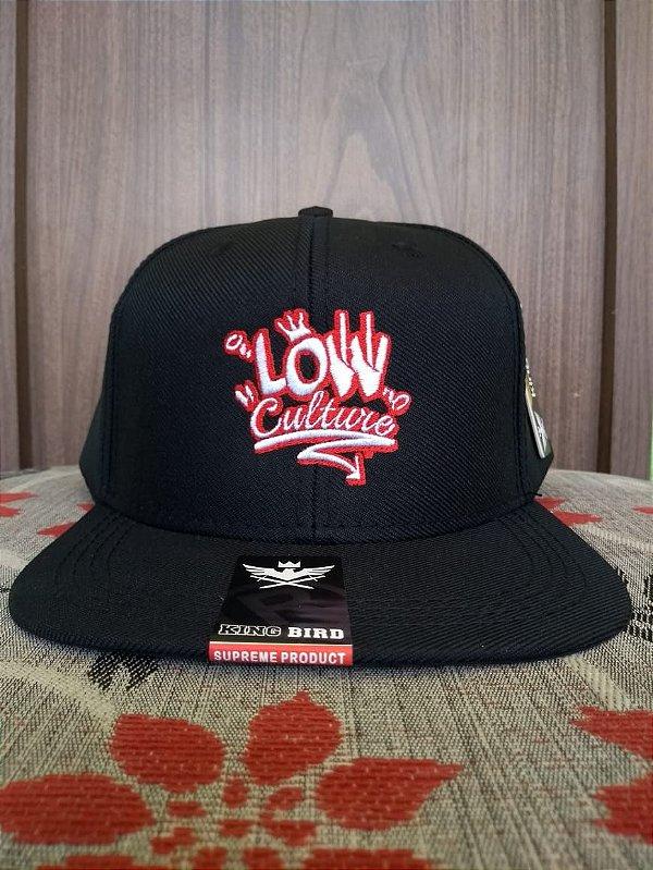 Cap Black Low Culture