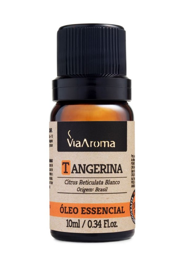 Óleo Essencial de Tangerina 10ml - Via Aroma