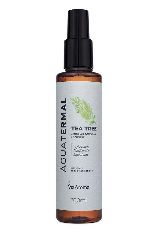 Água Termal com Óleo Essencial de Tea Tree 200ml - Via Aroma
