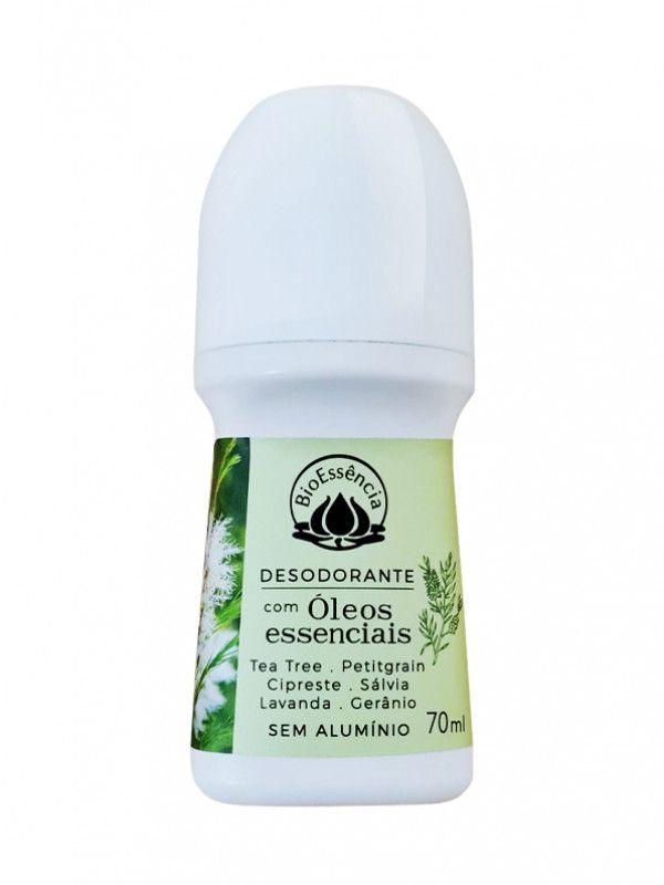 Desodorante Natural Roll-On de Tea Tree 70ml