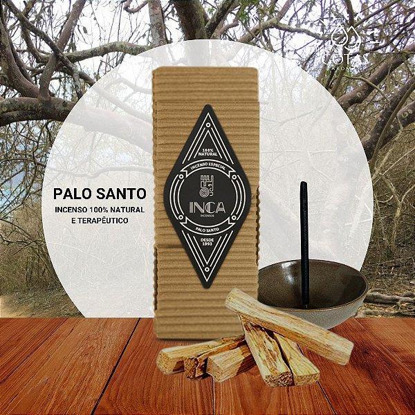 Incenso Terapêutico Palo Santo - Especial (caixa 9 Varetas) Inca Aromas