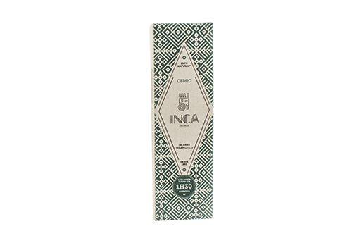 Incenso Terapêutico Cedro (caixa 4 Varetas) Inca Aromas