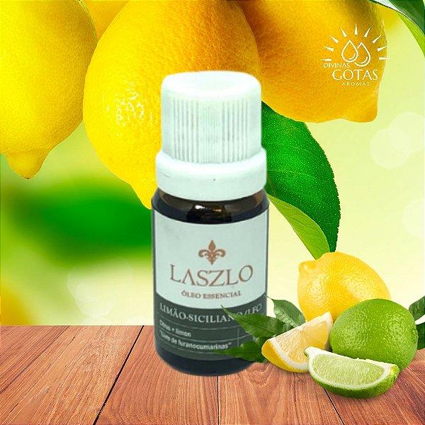 Óleo Essencial de Limão Siciliano (LFC) 10,1ml - Laszlo