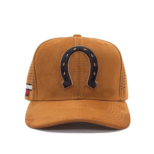 CAP BLACK IRON - Camurça