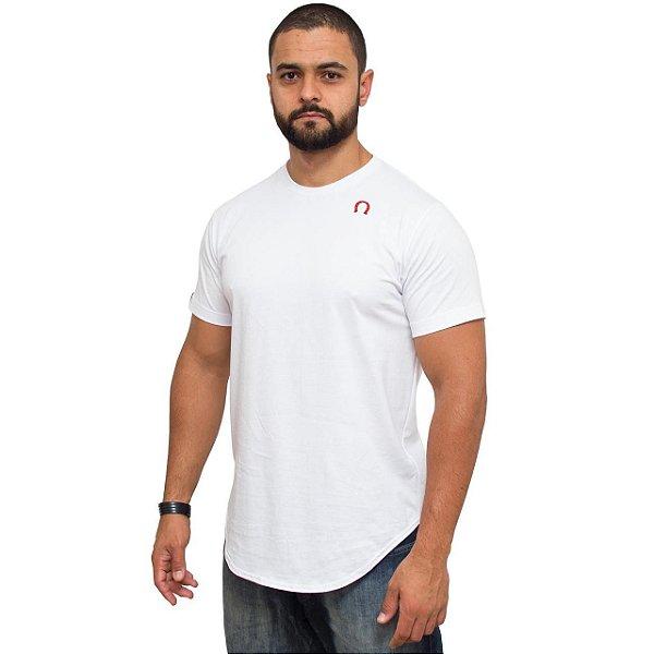 Camiseta Long White