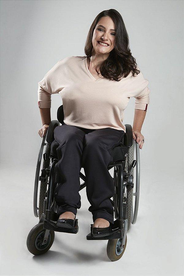 BLUSA para cadeirantes e pessoas com mobilidade reduzida