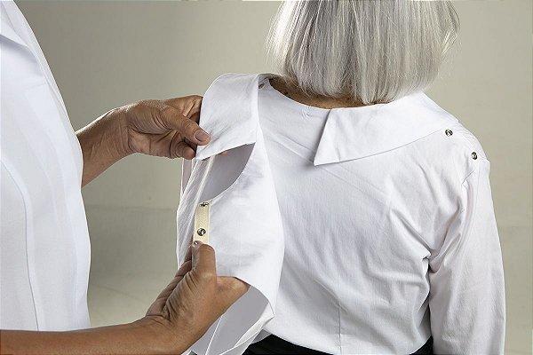 CAMISA para pessoas com artrose, AVC ou pós operadas.