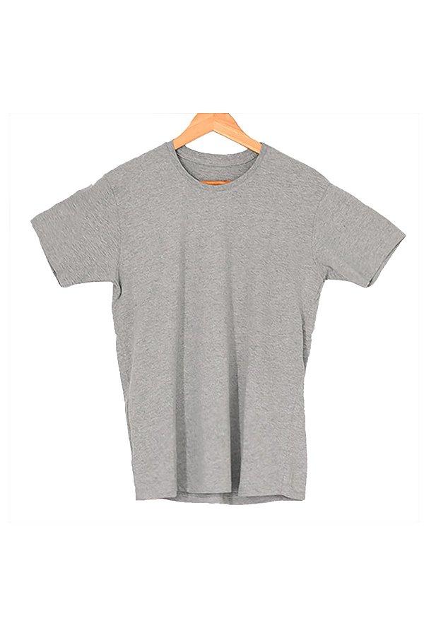 T-Shirt Algodão Orgânico Cinza