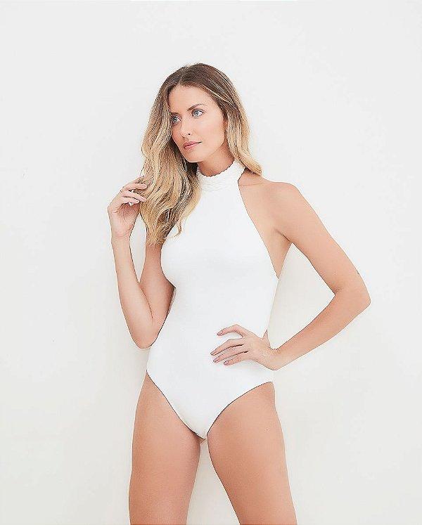 Maiô/Body Marselha Off White