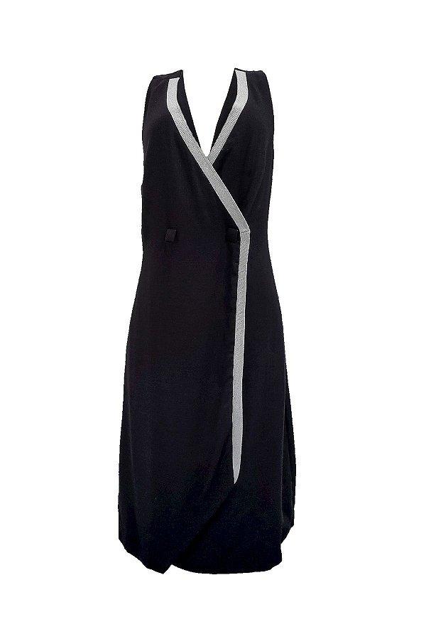 Vestido Colete Preto