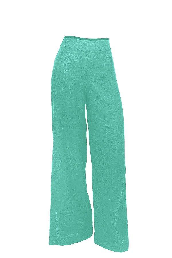 Pantalona Aberta Verde