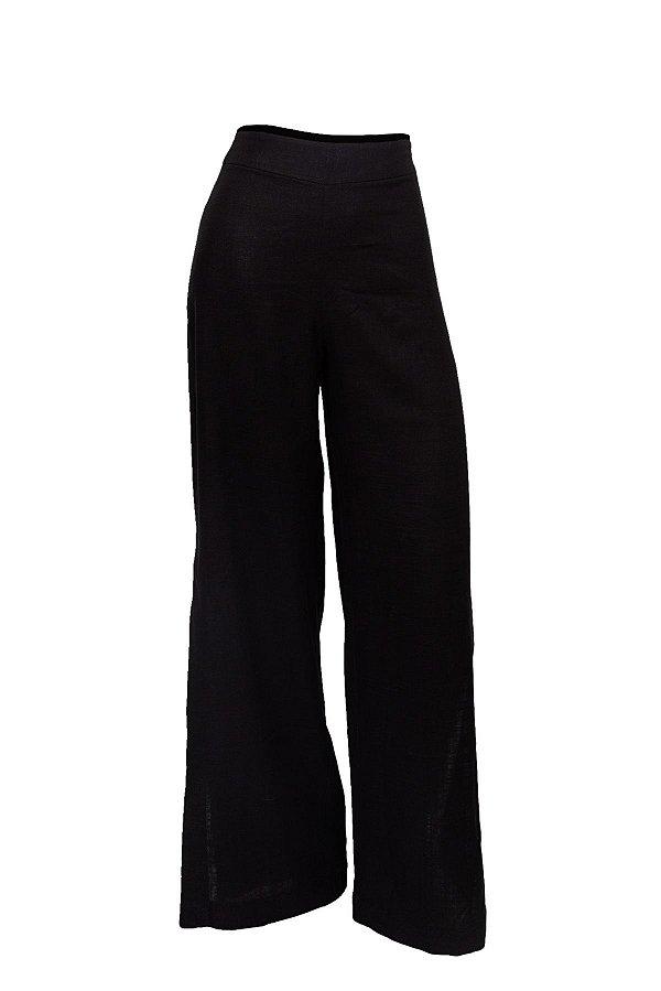 Pantalona Aberta Preta