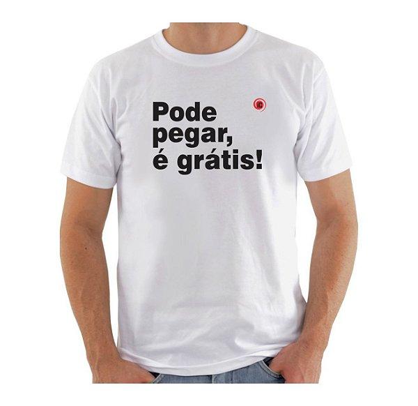 Camiseta Manga Curta iCuston PODE PEGAR É GRÁTIS!
