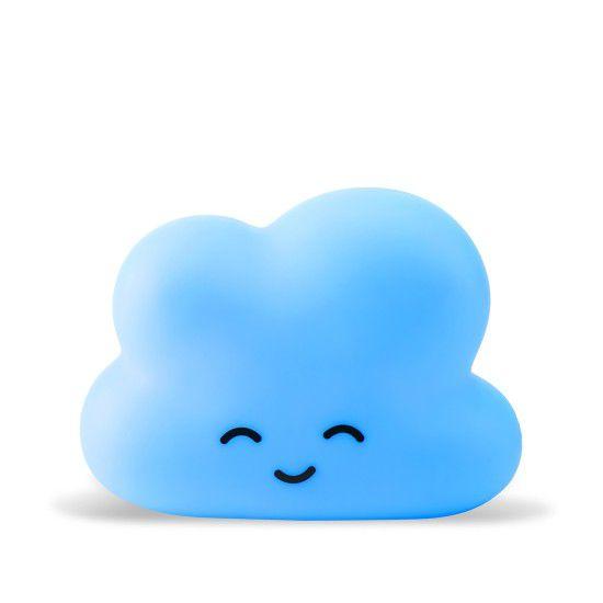 Luminária Nuvem Azul com Cartela para Personalizar - 01 unidade