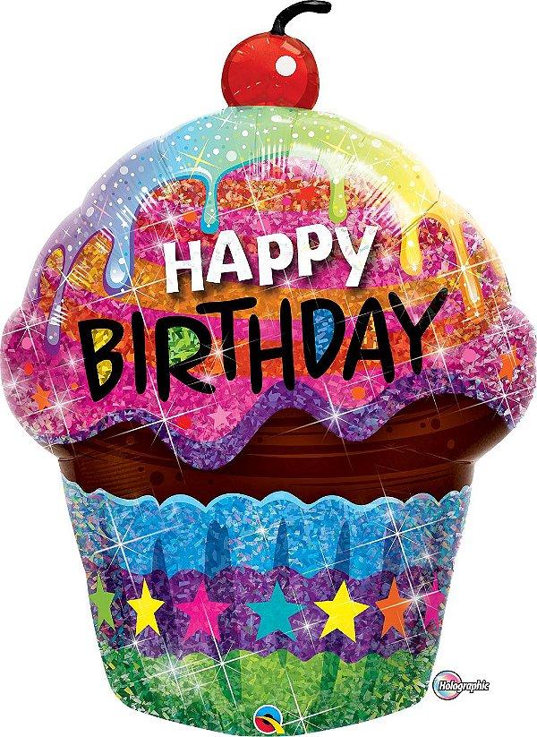 Balão Cupcake Gigante - 01 unidade