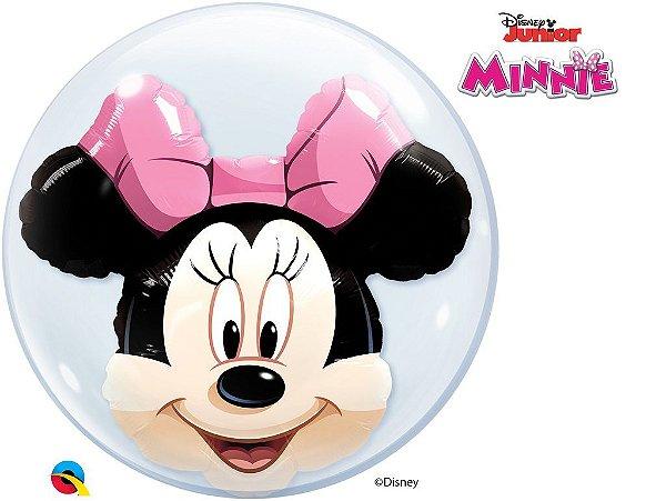 Balão Bubble com Minnie Mouse da Disney - 01 unidade