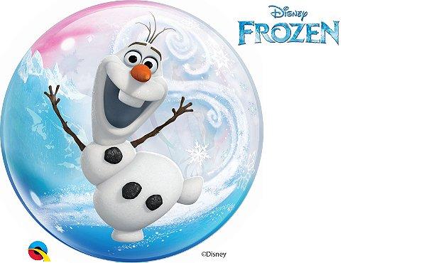 Balão Bubble Frozen - 01 unidade