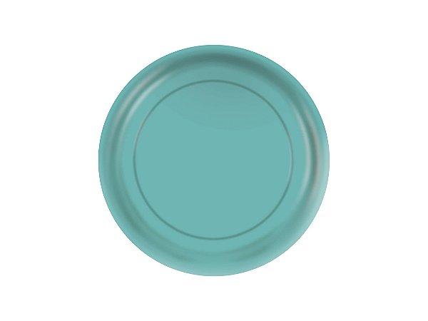Prato de Papel - Tiffany - Pacote com 8 Unidades