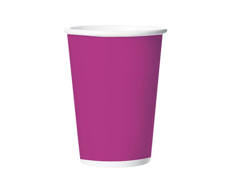 Copo de Papel - Pink - Pacote com 8 Unidades