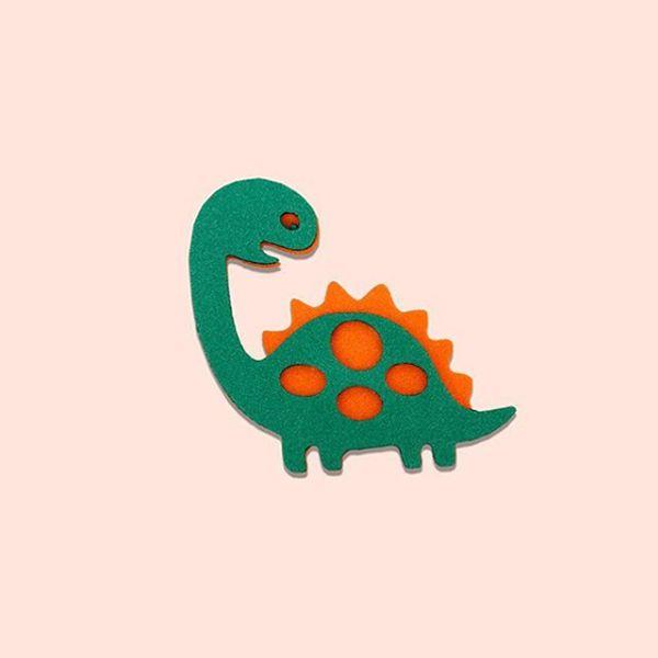 Aplique EVA 5cm - Dinossauro Verde - 06 unidades