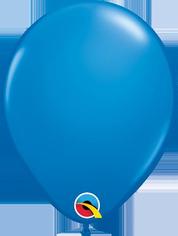 Balão de 5 Polegadas Azul Marinho Qualatex - 05 unidades - Kit Teddys