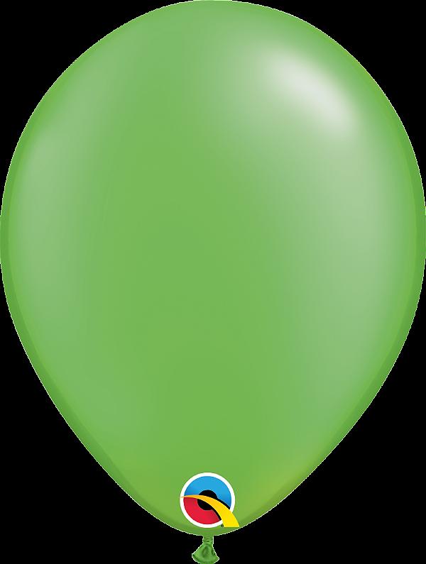Balão de 11 Polegadas Verde Limão Perolado Qualatex - 05 unidades - Kit Teddys