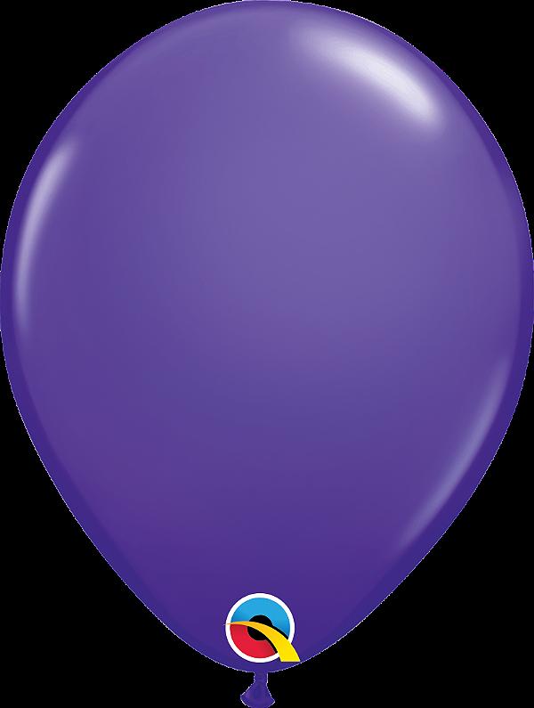 Balão de 11 Polegadas Violeta Qualatex - 05 unidades - Kit Teddys