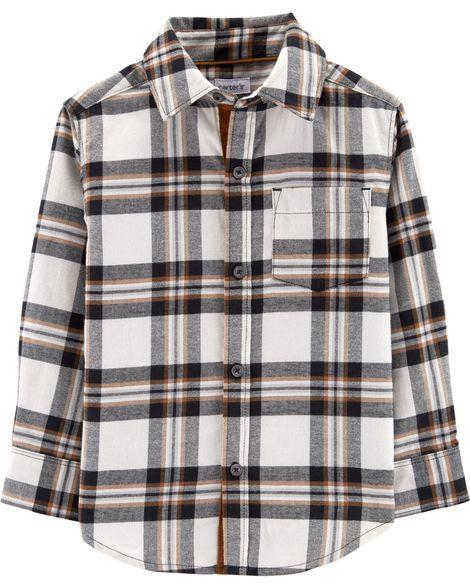 Camisa Carter's Xadrez com Botão