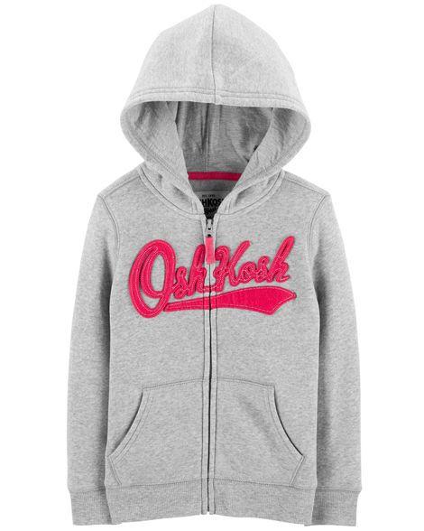 Moletom Carter's Oshkosh com Capuz e Logo