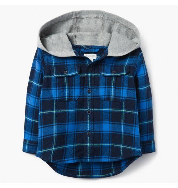 Moletom Gymbore Hooded Flannel Shirt
