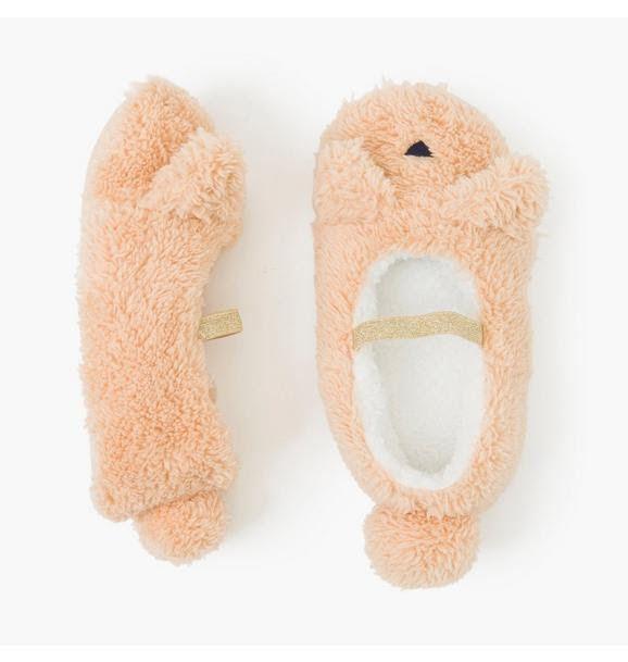 Pantufa  Gymboree Fuzzy Cat Slippers