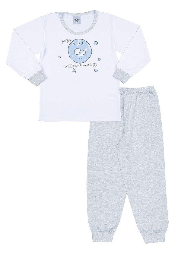 Pijama Infantil Menino Mundo da Lua - Junkes