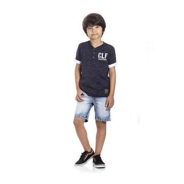 Camiseta California Manga Curta Infantil Menino