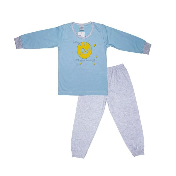 Pijama Infantil Menino Mundo da Lua
