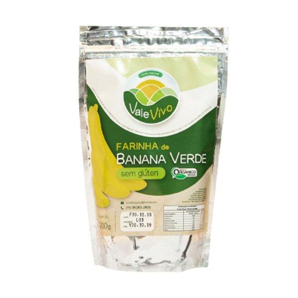 Farinha de Banana Verde Orgânica – 200grs.