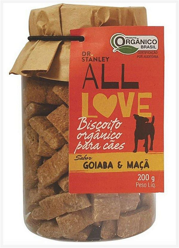 Biscoito Orgânico Goiaba e Maça – 200grs.