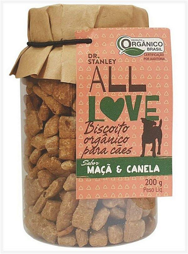 Biscoito Orgânico Maça e Canela – 200grs.