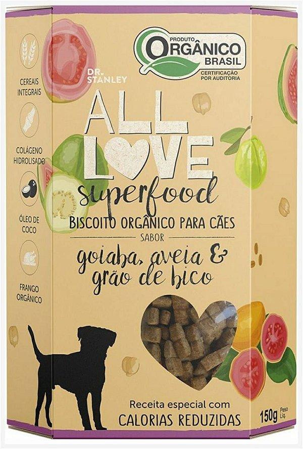 Biscoito Orgânico SuperFood Goiaba, Aveia e Grão de Bico – 150grs.