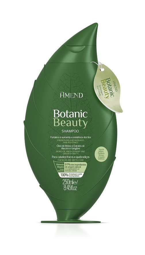 Shampoo Fortalecedor Botanic Beauty Herbal 250ml